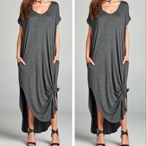 Dresses & Skirts - Oversized Loose Fit Maxi Dress